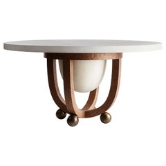 Drum Dining Table by Apparatus