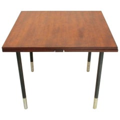 Square Extensible Teak Table by Giampiero Vitelli for Rossi di Albizzate, 1960s
