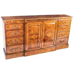Elegant Burr Walnut Sideboard Chiffonier