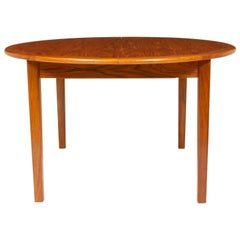 1960s Danish Teak Extending Dining Table by Vejle Stole