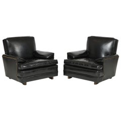 Pair of Club Chairs Attributed to Sam Marx