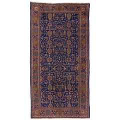 Arts & Crafts Antique Turkish Sparta Gallery Rug with Traditional Luxe Style