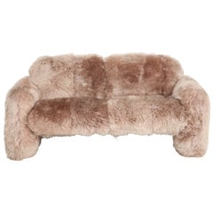 Ray Wilkes New Zealand Blush Sheepskin Sofa