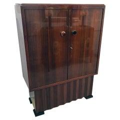 Art Deco Rosewood Cabinet by D.I.M 'Decoration Intérieure Moderne'