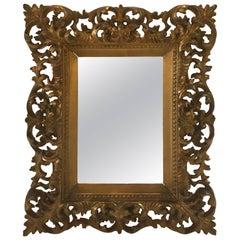 Ornate Italian Giltwood Frame