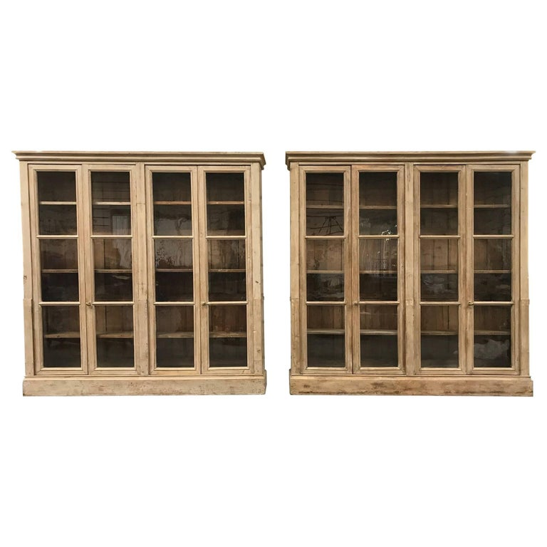 Outstanding Pair of Mid-19th Century French Bookcases