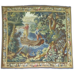 19th Century French Tapestry Wall Hanging