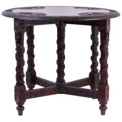 Anglo-Indian Game or Card Table