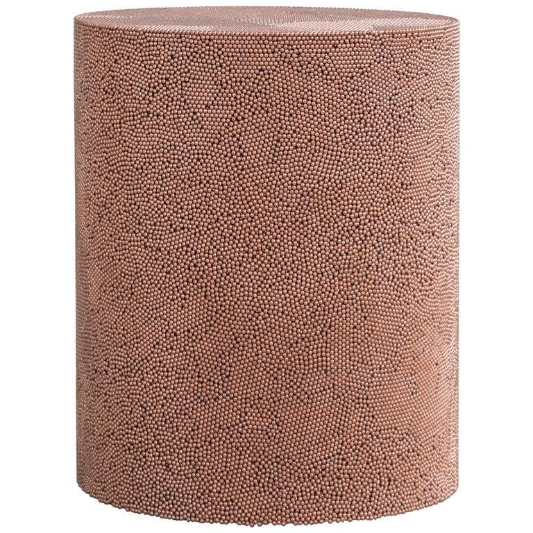 Copper BB Drum by Fernando Mastrangelo For Sale