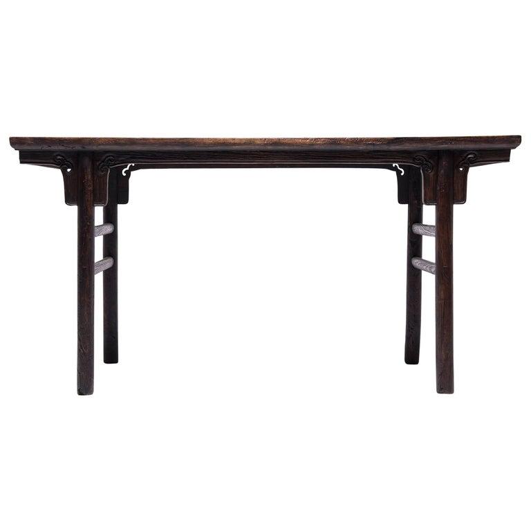 19th Century Chinese Ruyi Writing Table