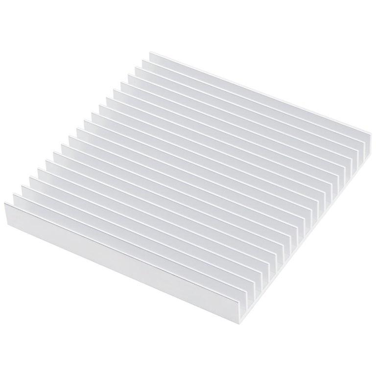 Fin Trivets from Souda, Silver, in Stock For Sale