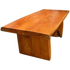 Andrianna Shamaris Natural Organic Teakwood Table
