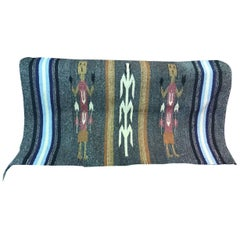 Handwoven Navajo 'Yei' Pictorial Rug