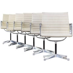 Ray & Charles Eames EA108 Fauteuils for Herman Miller Set of Six