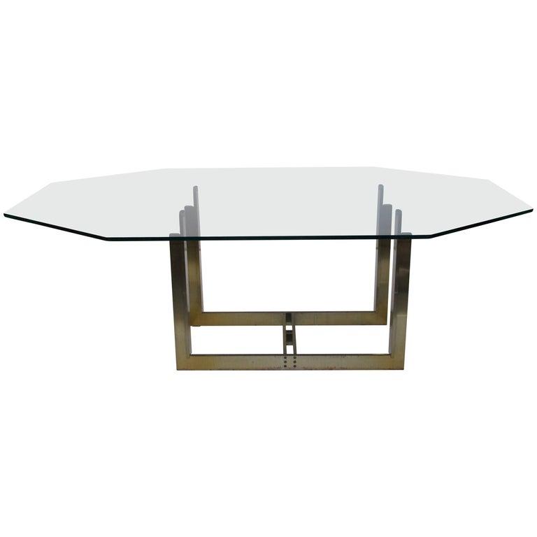 Carlo Scarpa, Dining Room Table, First Gavina Edition, circa 1970, Italy