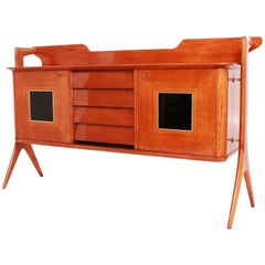 Sideboard in the Style of Ico Parisi, Italy, Mid-20th Century