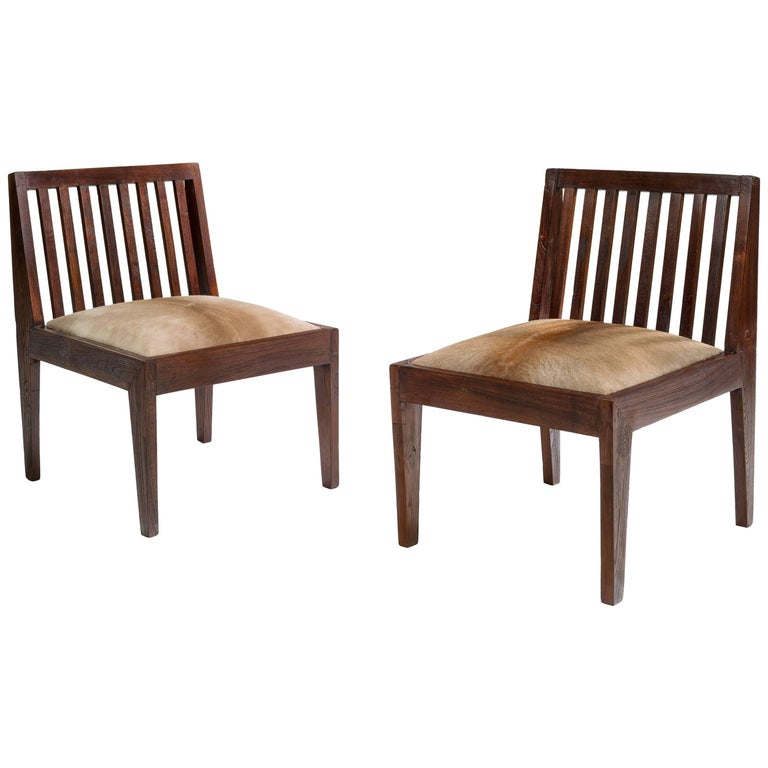 Pierre Jeanneret, Chauffeuses Pair