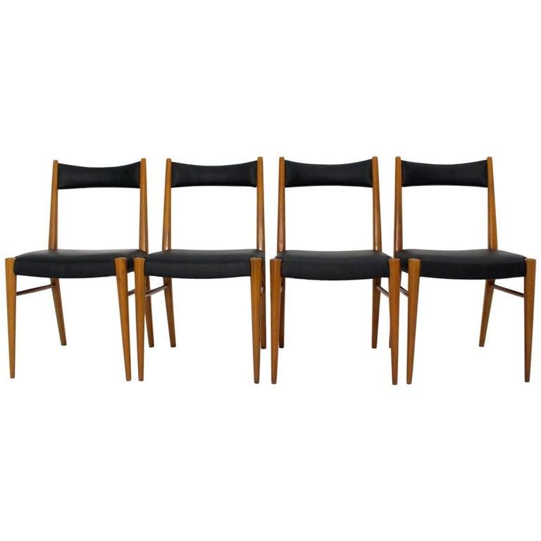 Dining Room Chairs by Anna-Lülja Praun, 1953 Vienna