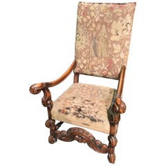 English William and Mary Style Armchair