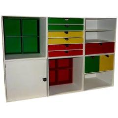 Midcentury Palaset Storage Cubes by Ristomatti Ratia