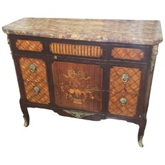Antique French Transitional Commode