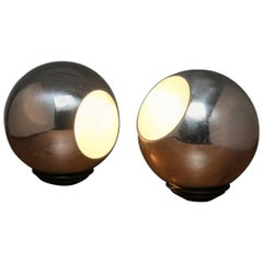 Pair of Table Lamps Model 586 by Gino Sarfatti for Arteluce