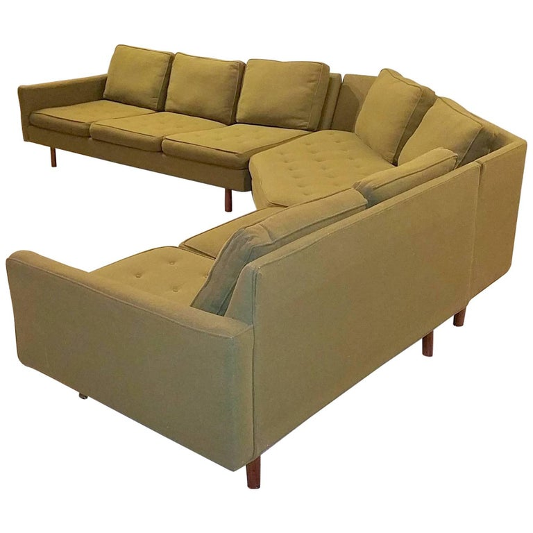 "Milo Baughman for Thayer Coggin ""Infinity!"" Sectional Sofa"