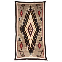 Vintage Navajo Rug from the Klagetoh Trading Post, circa 1925