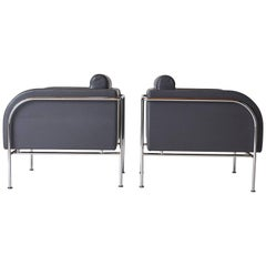 Pair of Lounge Chairs by Friis & Moltke