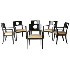Set of Six Dining Armchairs by Michael Graves