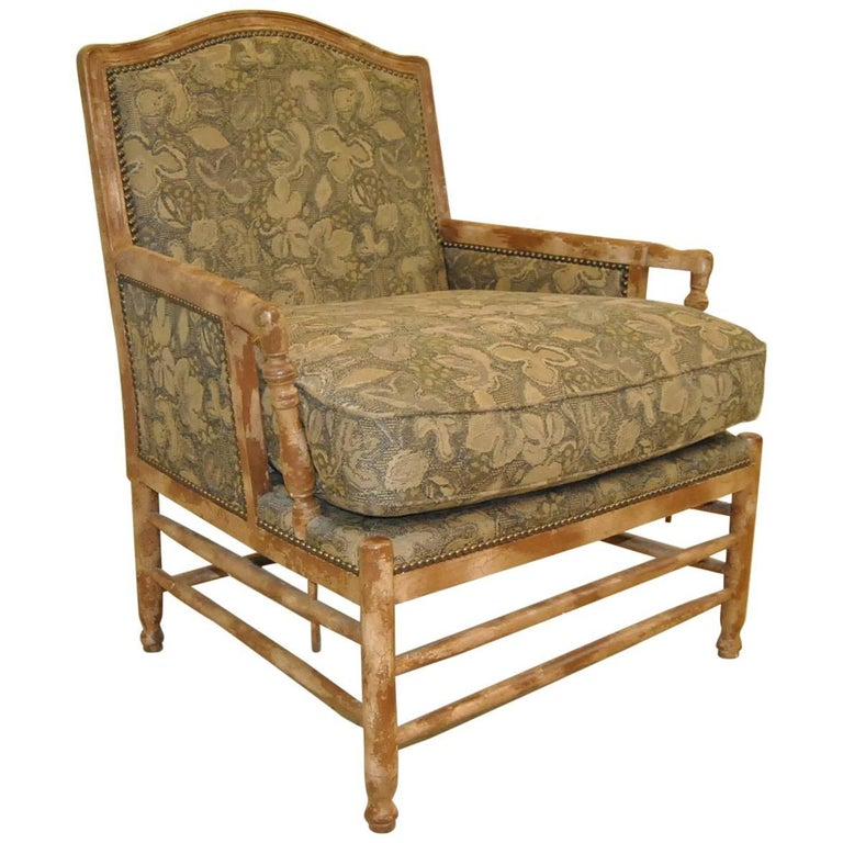 Brilliant French Country Bergere Style Armchair By Isenhour Furniture Pabps2019 Chair Design Images Pabps2019Com