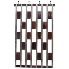 Midcentury Modern Wall Mounted Coatrack, Belgium, 1960s