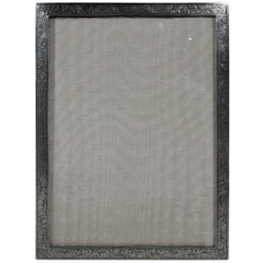 Pretty Old-Fashioned English Sterling Silver Picture Frame