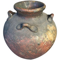 Extraordinary Japanese Old Tea Storage Pot, Rich and Lucious Glaze
