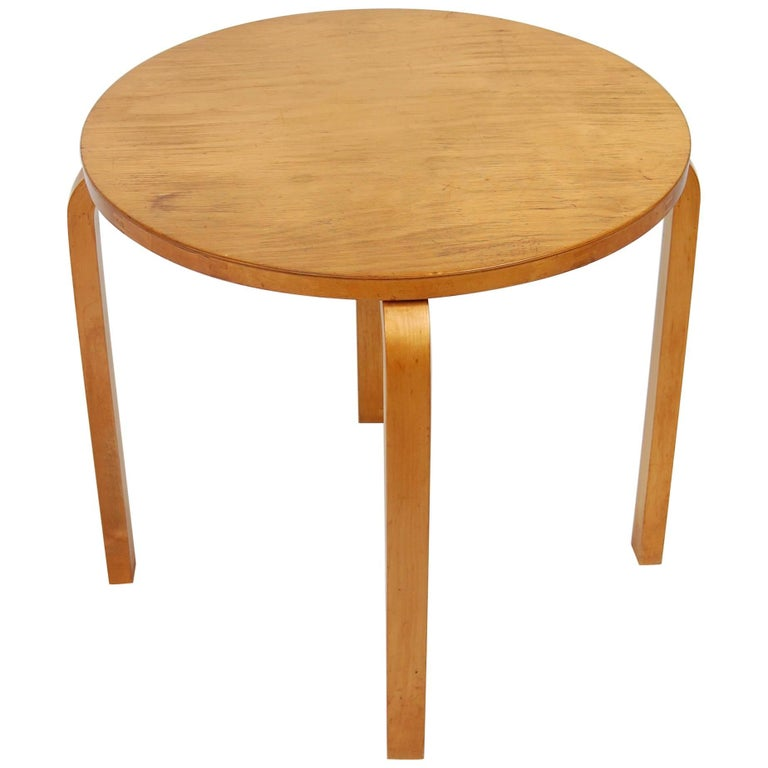 Early Alvar Aalto Side Table by Finmar For Sale
