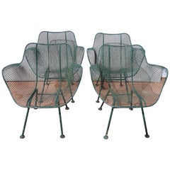 Sculptura Russell Woodard Set of Mesh Chairs