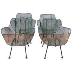 Woodard Sculptura Set of Mesh Chairs