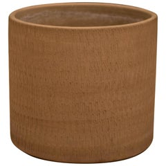 California Modern Large Sgraffito Planter Pot by Gainey
