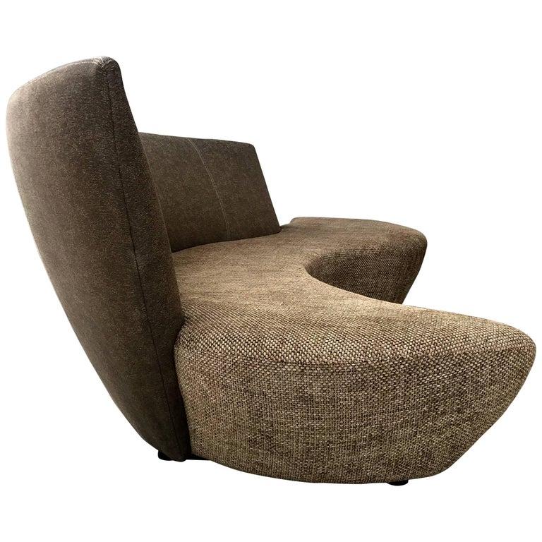 Classic Curved Sofa by Vladimir Kagan