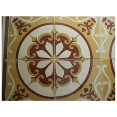 Early 20th Century Cement Tiles