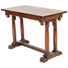 French 16th Century Henri II Centre Table