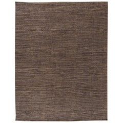 21st Century Brown Gabbeh-Style Carpet