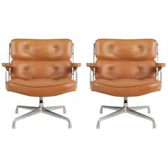 """Early Production Time Life """"Lobby"""" Executive Chairs by Charles Eames, circa 1960"""