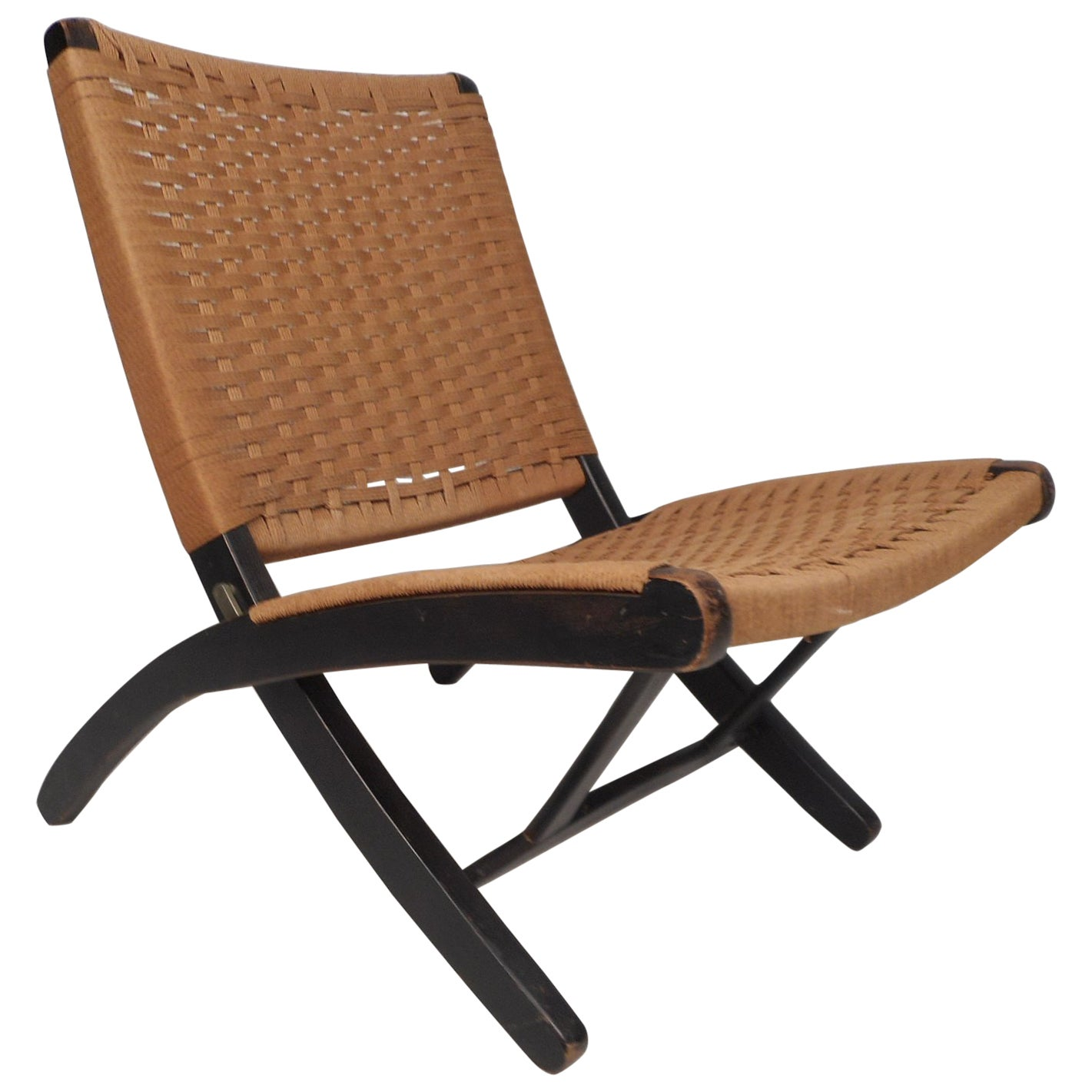 Folding Rope Lounge Chair