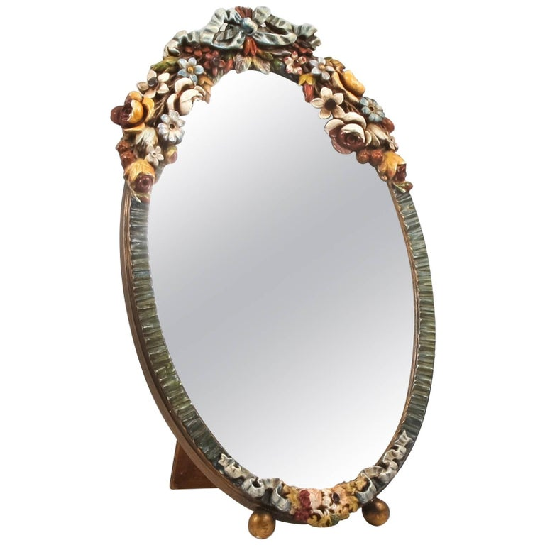 Large Barbola Mirror