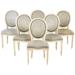 French Cameo Back Chairs