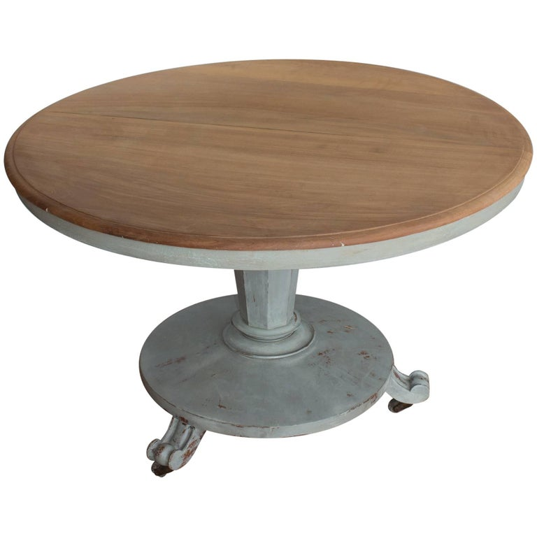 Antique English Pedestal Table