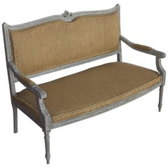 French Upholstered Bench