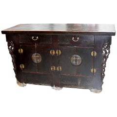 19th Century Chinese Sideboard Chest