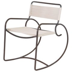 Single Walter Lamb Rocking Chair for Brown Jordan